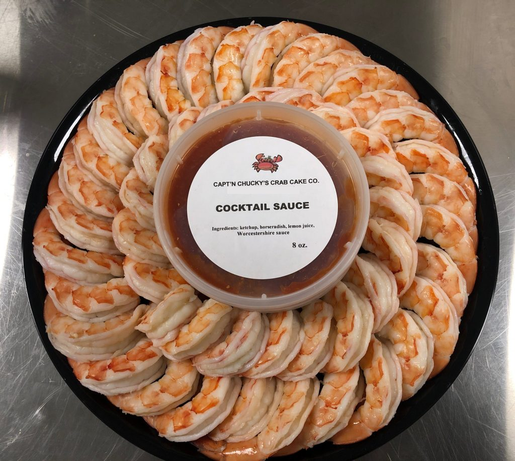 Shrimp Tray with Cocktail sauce GEN